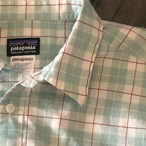 Patagonia Plaid Organic Cotton Shirt - Size M